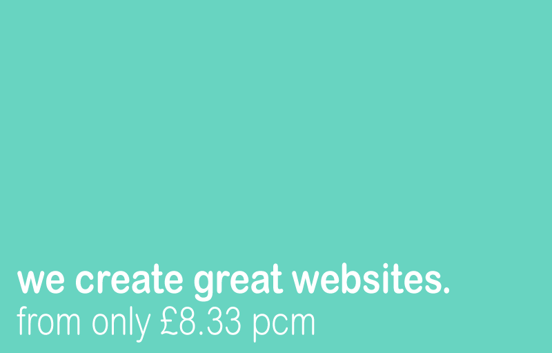 we create great websites